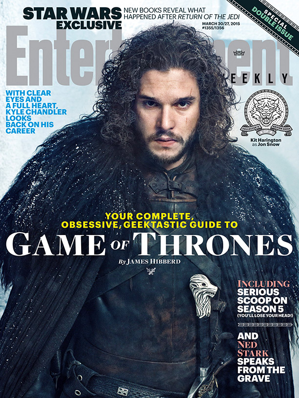 GAME OF THRONES Season 5 EW Character Covers