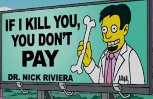 Hilarious Signs from THE SIMPSONS