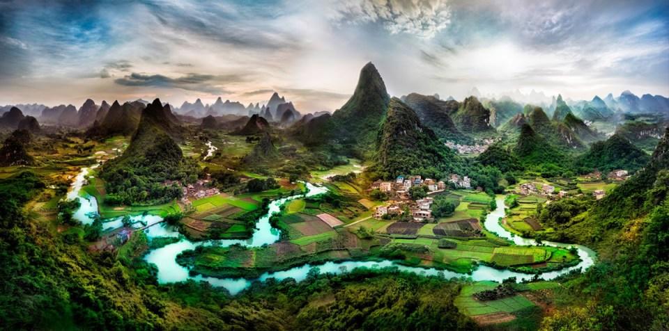 Northern Guangxi Province China