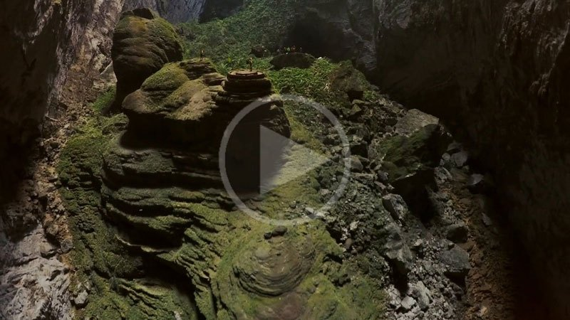 Hang Son Doong, The Largest Cave in the World Explored By A Drone