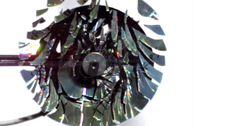 If You Spin a CD Fast Enough It Will Shatter