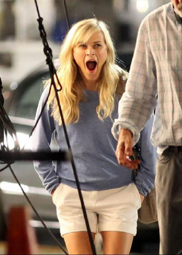 Famous Yawning Pictures