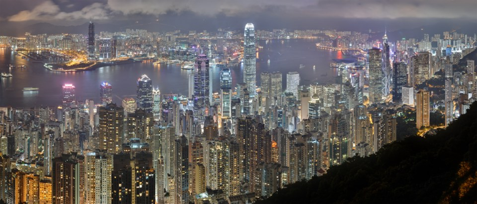 Hong Kong: Land Of The Skyline