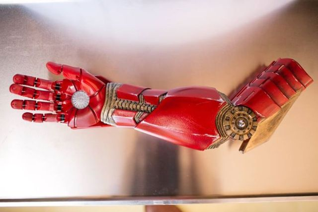 Robert Downey Jr. Gives a Iron Man-Inspired Bionic Arm to Young Boy