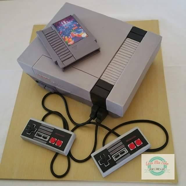 Nintendo Console Cake Is Beyond Real