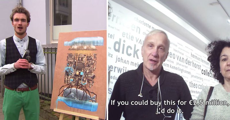 Art Experts Examining IKEA Prints