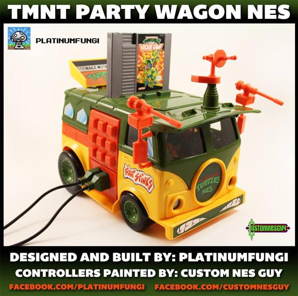 TMNT Classic Nintendo Custom Build