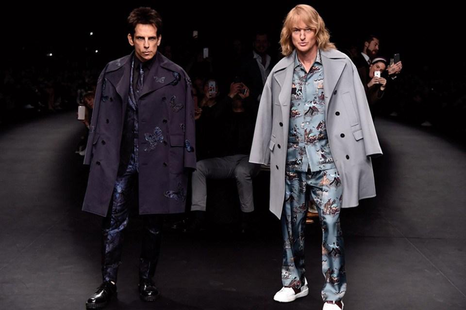 Zoolander & Hansel Close Out The Valentino Fashion Show