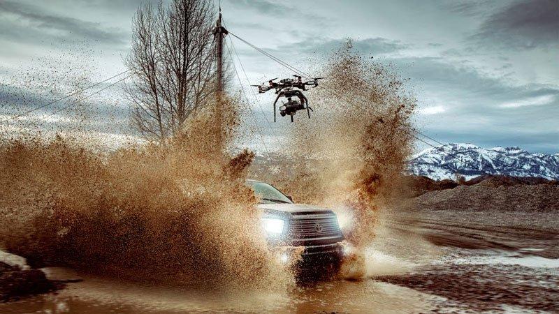 Drone with a Phantom Flex 4KCamera