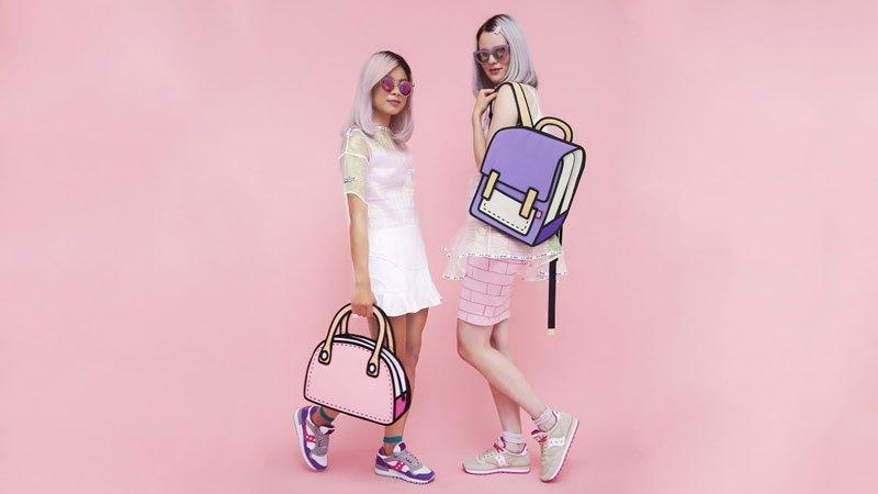 cartoon bags