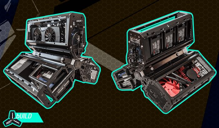 Trinity Three Blade PC Rig Unveiled By CyberPower