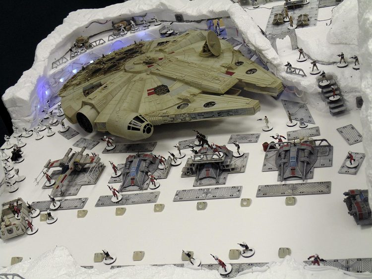 STAR WARS' Battle of Hoth Recreated as Gaming Tabletop