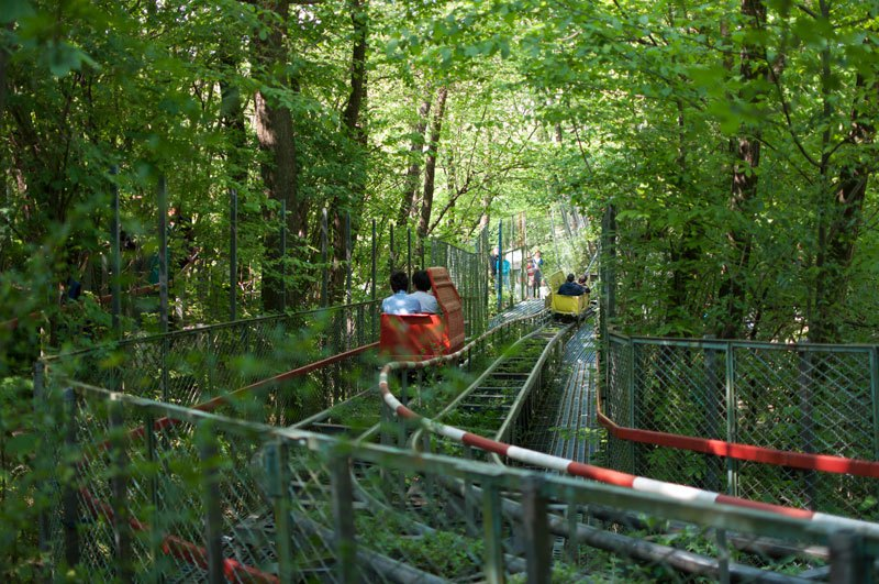 Guy Spent 40 Years Building This Human-Powered Theme Park