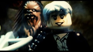Lego Treatment of STAR WARS: THE FORCE AWAKENS Trailer