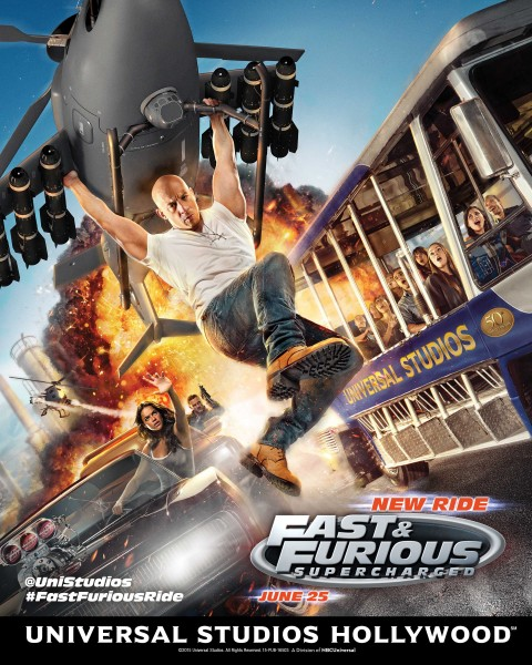 Universal's FAST & FURIOUS: SUPERCHARGED Ride