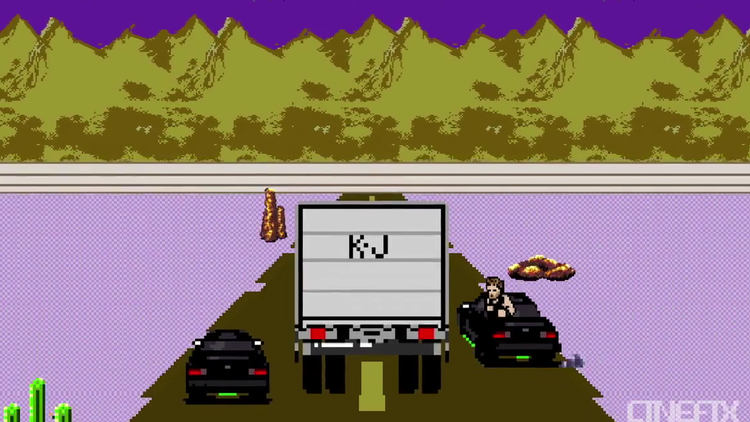 FAST AND THE FURIOUS Reimagined in 8-Bit