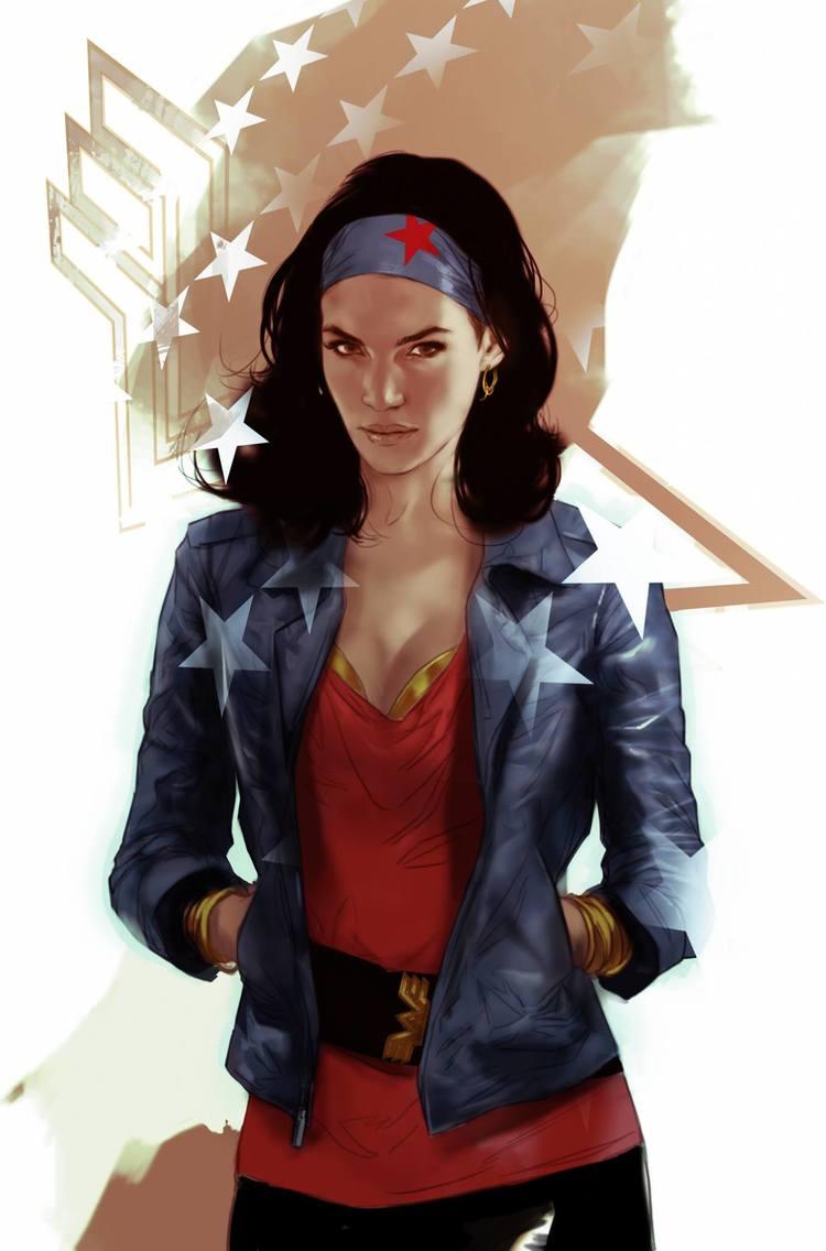 Wonder Woman Art by Ben Oliver