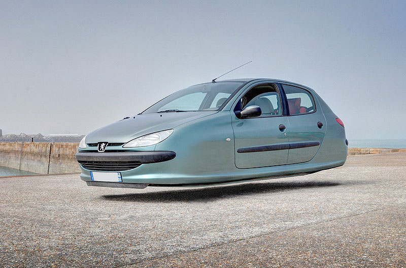 10 Hovering Versions of Modern Cars