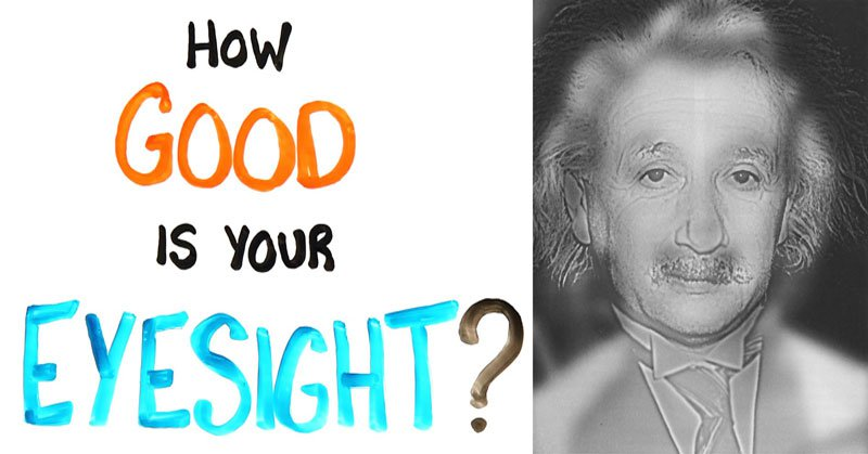 This Marilyn Monroe, Albert Einstein Vision Test Can Quickly Tell If you NeedGlasses