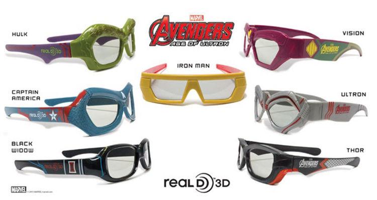 AVENGERS: AGE OF ULTRON 3D Glasses