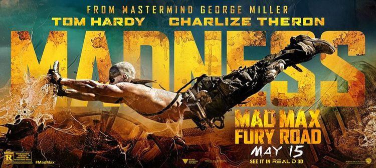 MAX: FURY ROAD Banner