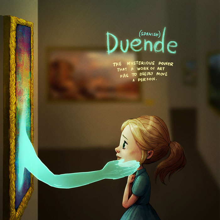 Beautiful Illustrations of Words with No English Equivalent