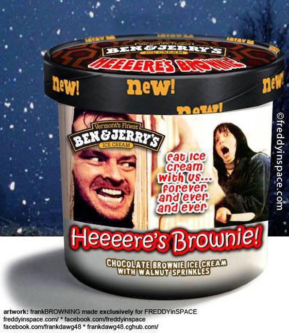 Horror Movies Inspired Ben & Jerry's Ice Cream Flavors