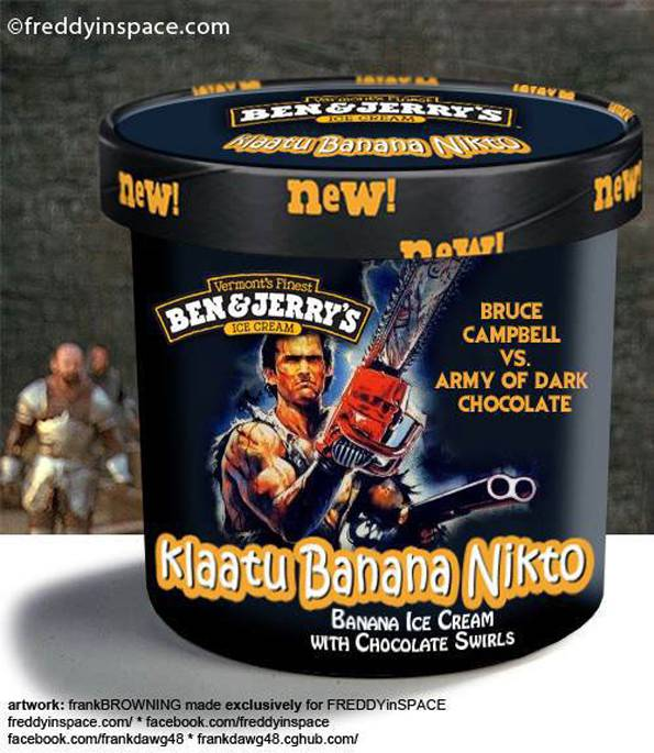 Horror Movies Inspired Ben & Jerry's Ice Cream Flavors