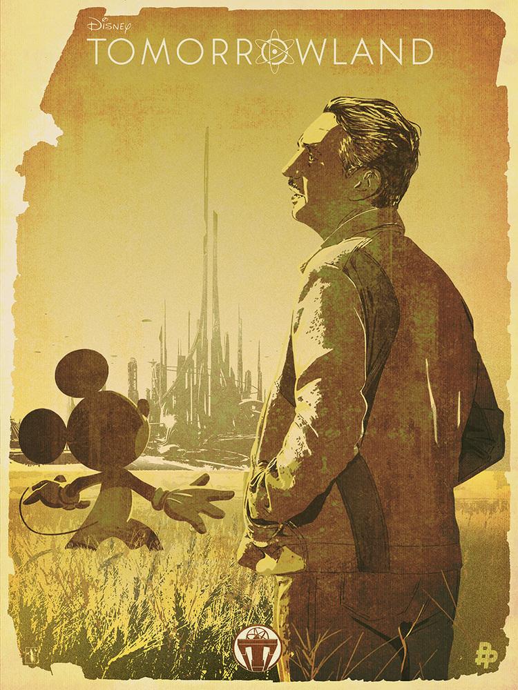 TOMORROWLAND Poster Art Series