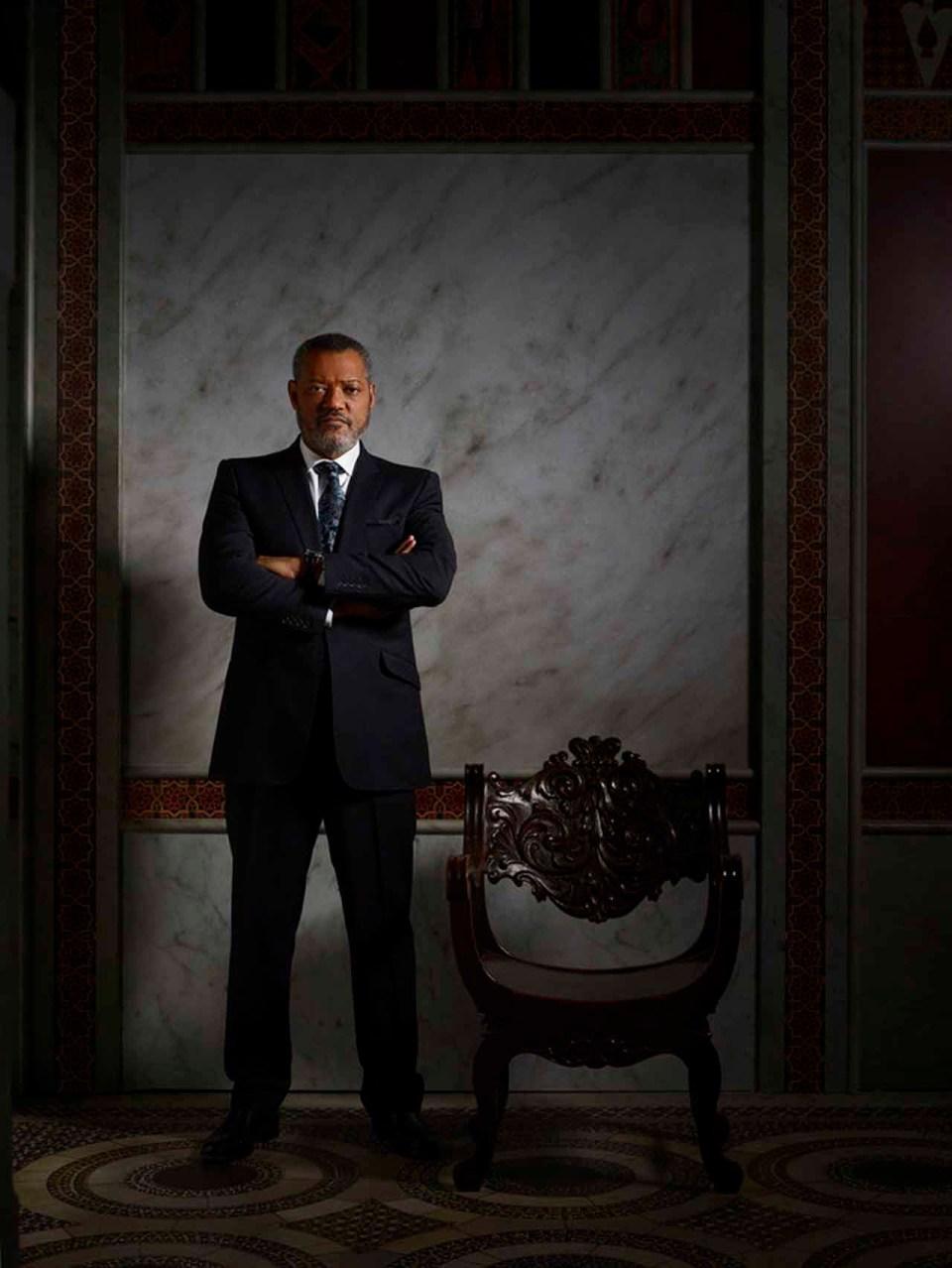 HANNIBAL -- Season: 3 -- Pictured: Laurence Fishburne as Jack Crawford -- (Photo by: Elisabeth Caren/NBC)