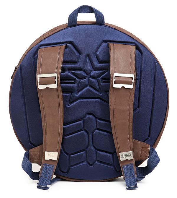 Captain America Backpack Shield
