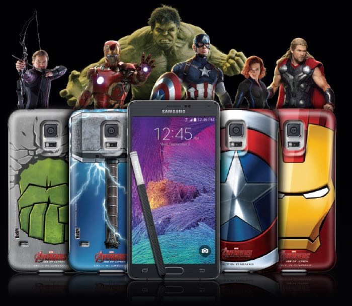 Samsung Galaxy Note 4 Being Offered With Four Avengers Cases