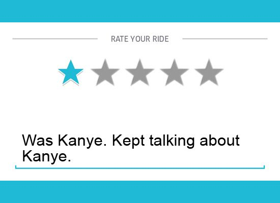 One-Star Uber Driver Reviews