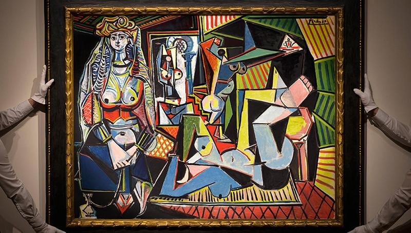 Pablo Picasso's 1955 painting, Les femmes d'Alger