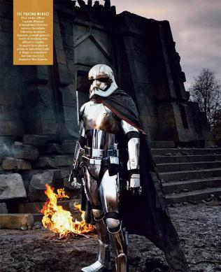 Captain Phasma in New Star Wars: The Force Awakens Photo