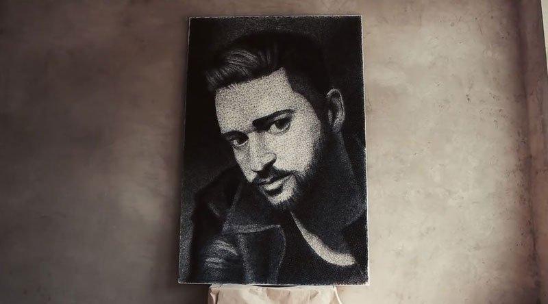 Ukrainian artist Zenyk Palagniuk