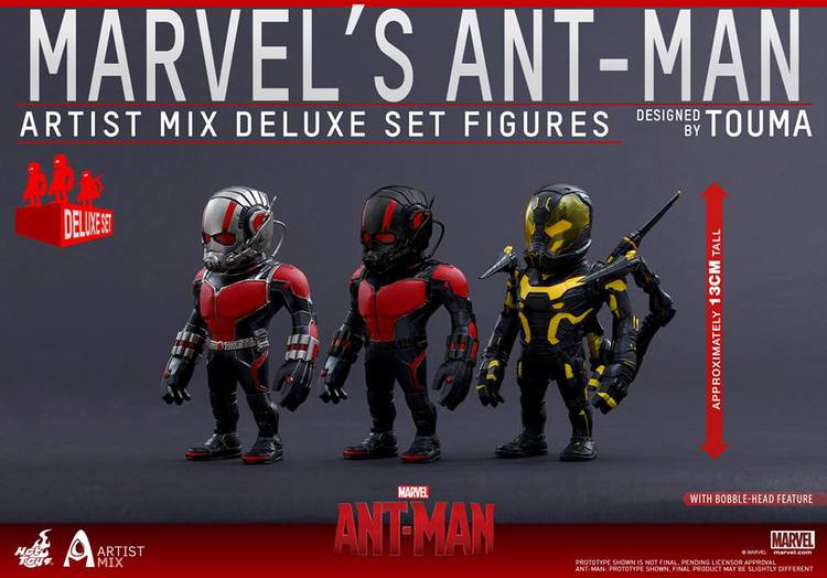 Hot Toys ANT-MAN Figures