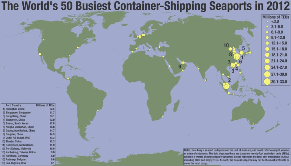 50-busiest-container-shipping-seaports-in-the-world