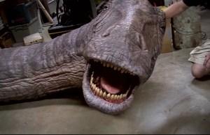 JURASSIC WORLD's Practical Apatosaurus