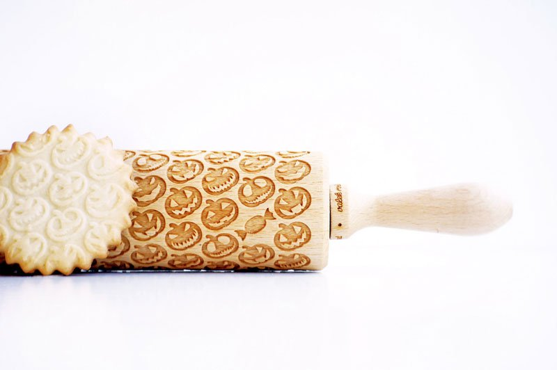Laser Engraved Rolling Pins Will Transform Your Baking