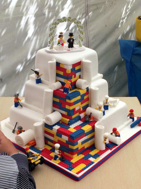 LEGO Wedding Cake