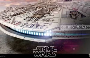18-foot Long Millennium Falcon By Hot Toys