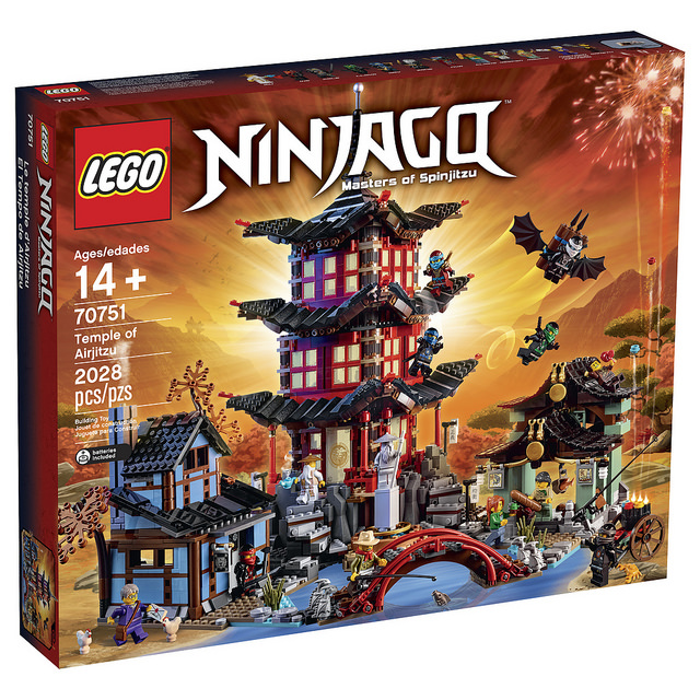 LEGO Announces New Giant Ninjago Set: 70751 Temple of Airjitsu