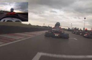 F1 Driver Fernando Alonso GoesGo-Karting