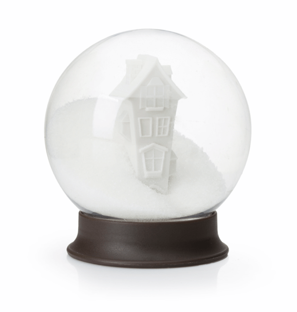 Sugar Bowl That Looks Like A Snow Globe