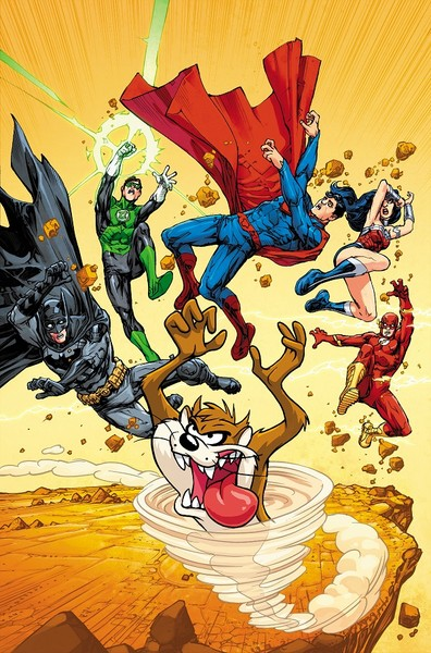 DC Comics Looney Tunes Variant Covers