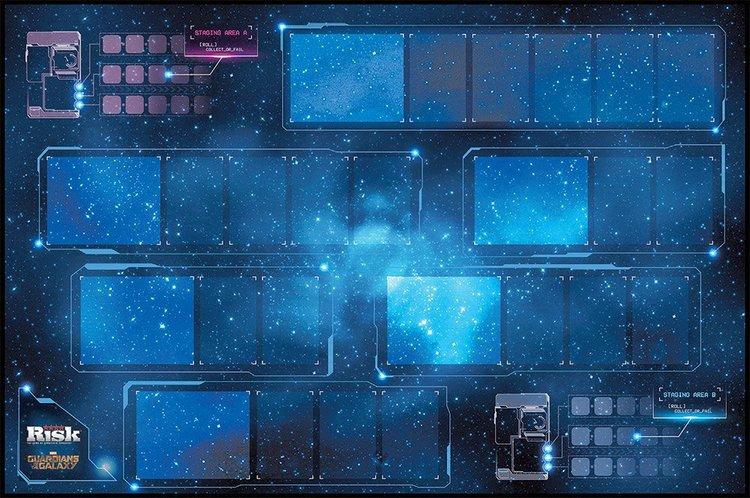Official Marvel Cinematic Universe RISK Board Game