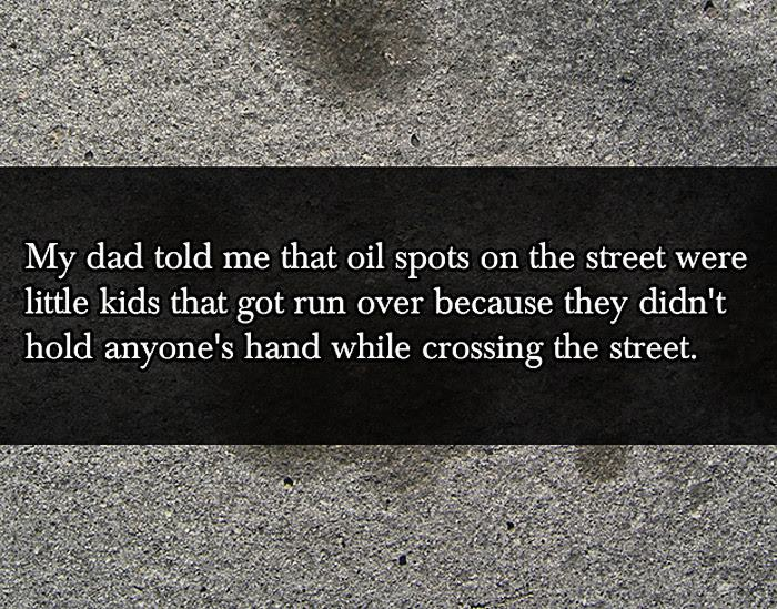 20 Hilarious Lies By Parents To Their Kids