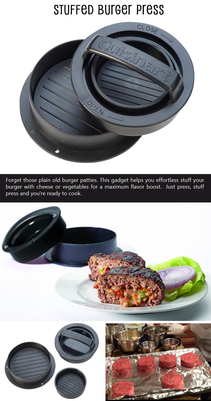 Stuffed-Burger-Press