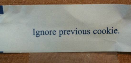 Hilarious Fortune Cookie Notes
